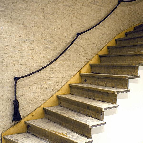 Treppenrenovierung - Vorher